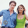 Liz Hurley and Hugh Grant