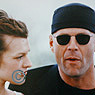 Bruce Willis and Milla Jovovich